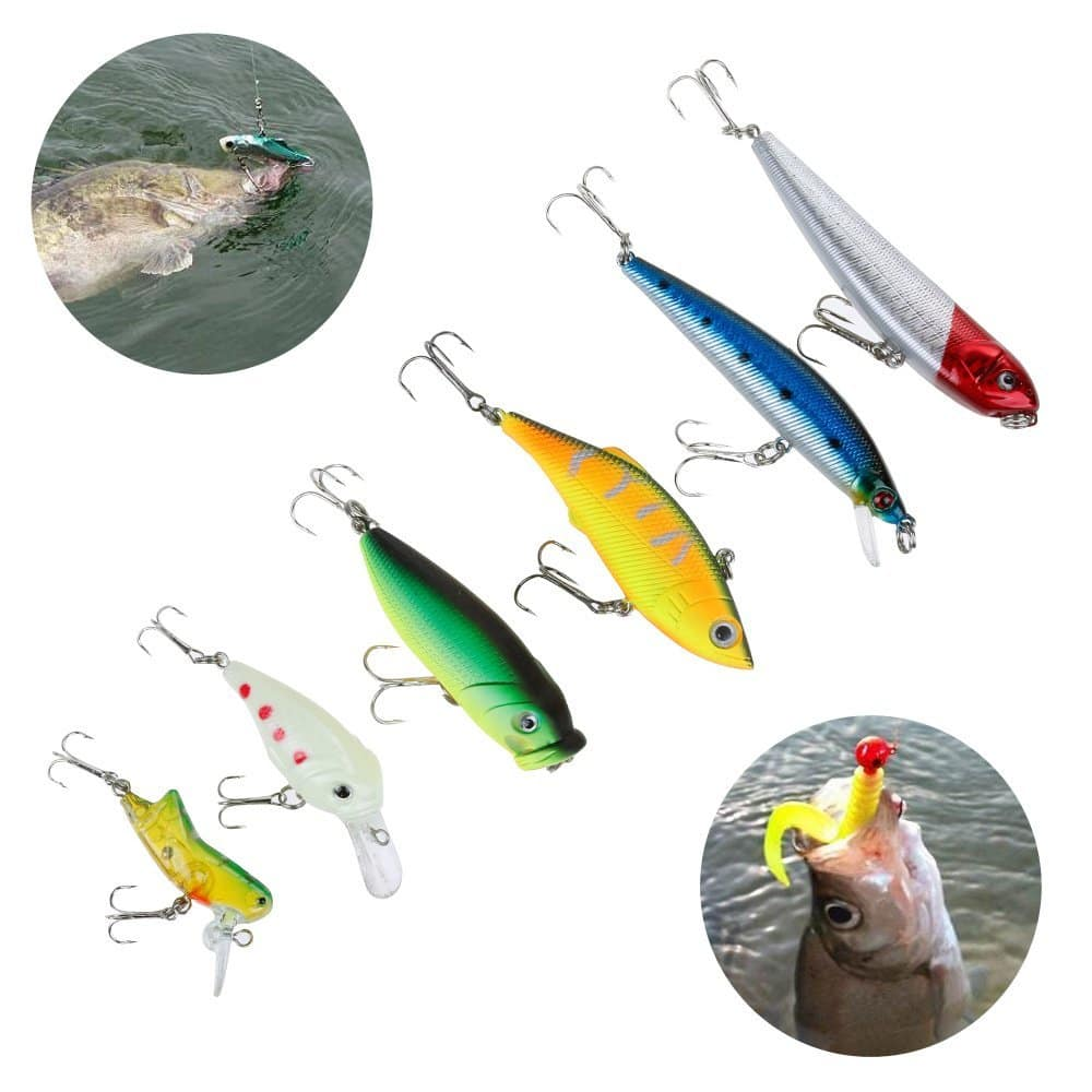 Fishing Lure Tackle Set On Sale $14.49