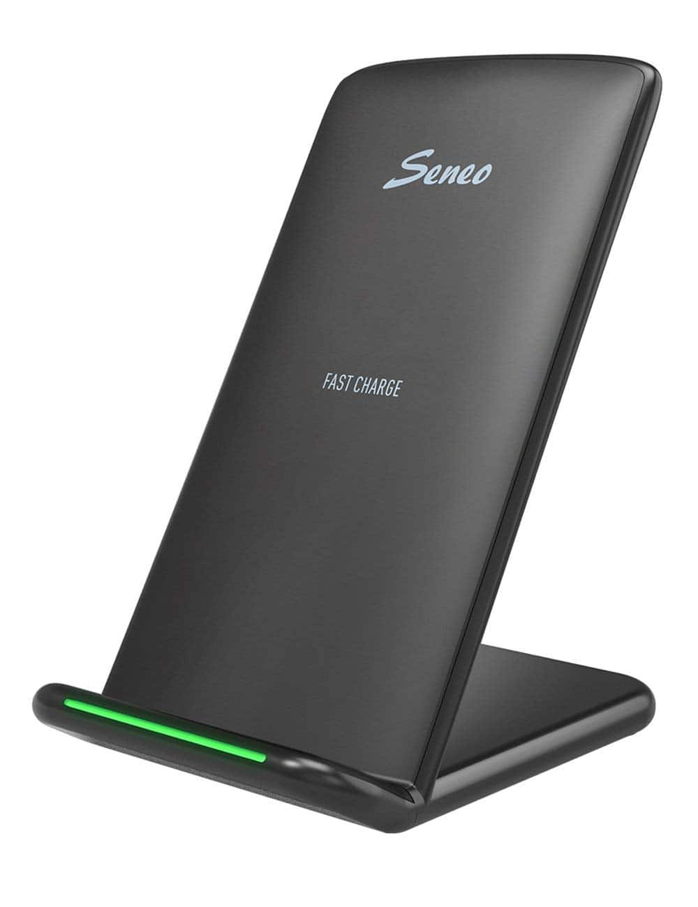 Amazon Prime Day Lighting Deal  Seneo 10W Fast Wireless Charger Stand  $14.99+Free Shipping