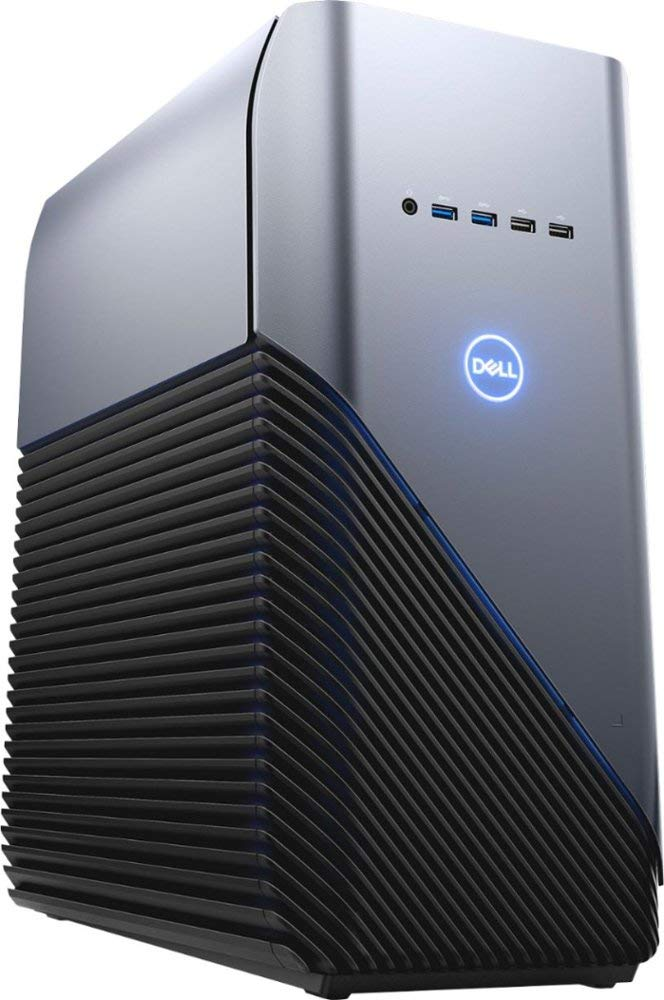 Dell Inspiron Gaming PC Desktop AMD Ryzen 7 2700 Processor, 16GB DRAM, 1TB HDD, AMD Radeon RX 580 4GB GDDR5 Graphics Card, Windows 10 64-bit, Blue LED, Model: i5676-A696Blu $694.97