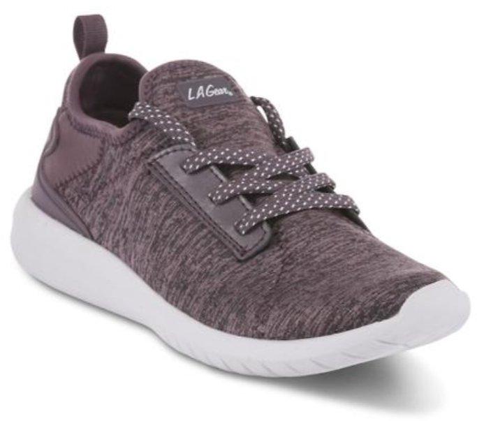 LA Gear Women's Dottie Cross-Training Shoe - Purple $8.99