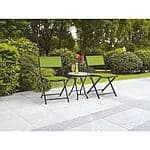 Mainstays Mystique Cove 3-Piece Folding Outdoor Bistro Set $35