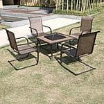 Winnfield 5-Piece Patio Conversation Set with Fire Pit $249