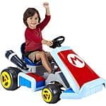 Super Mario Kart Deluxe 6-Volt Battery-Powered Ride-On  $79