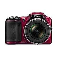 BuyDig Deal: Nikon COOLPIX L830 16MP 34x Opt Zoom Digital Camera (Red) Factory Refurbished + Adobe Lightroom 5  $159.95 free shipping