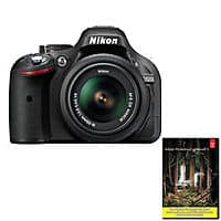 eBay Deal: Nikon D5200 24.1MP Digital SLR Camera with 18-55mmVR Lens (Refurbished) + Adobe Lightroom 5  $469.99 + Free Shipping