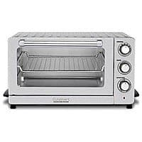 BuyDig Deal: Cuisinart Sale (Refurbished): TOB-60 Convenction Toaster $49, DCC-1200 12 Cup CoffeeMaker $39, DBM-8 Supreme Grind Burr Mill $27, GR-1 Griddler/Pannini Press $24 & more + free ship