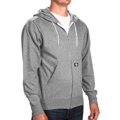 Dickies Lightweight Full-Zip Men's Hoodie in Various Colors: 3 for $24, 2 for $17, 1 for $10