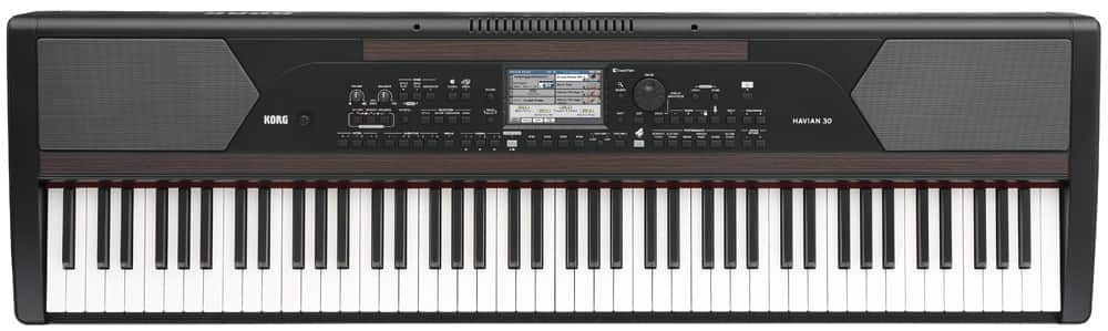 Korg Havian 30 Digital Ensemble 88 key Digital Piano with Furniture Stand now $799