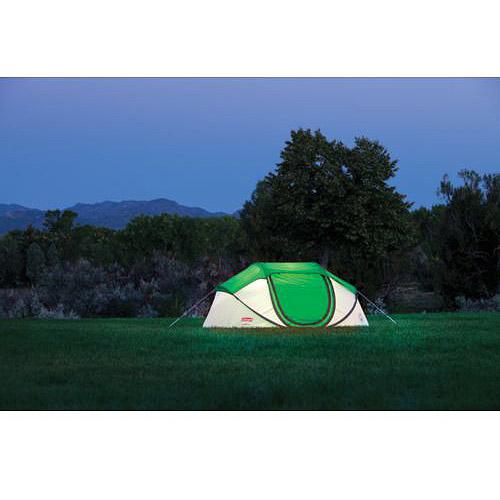 Coleman Popup 4 Tent - 4 Person(s) Capacity - Polyester Taffeta, Fiberglass $63