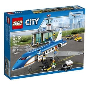 LEGO City Airport 60104 Airport Passenger Terminal Building Kit $80