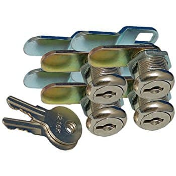 Prime Products Keyed Camlock- Pack of 4, $8.87 Amazon Prime