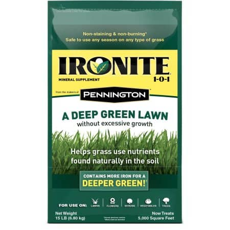 Ironite 15 lb. 1-0-1 5M Fertilizer $5 YMMV