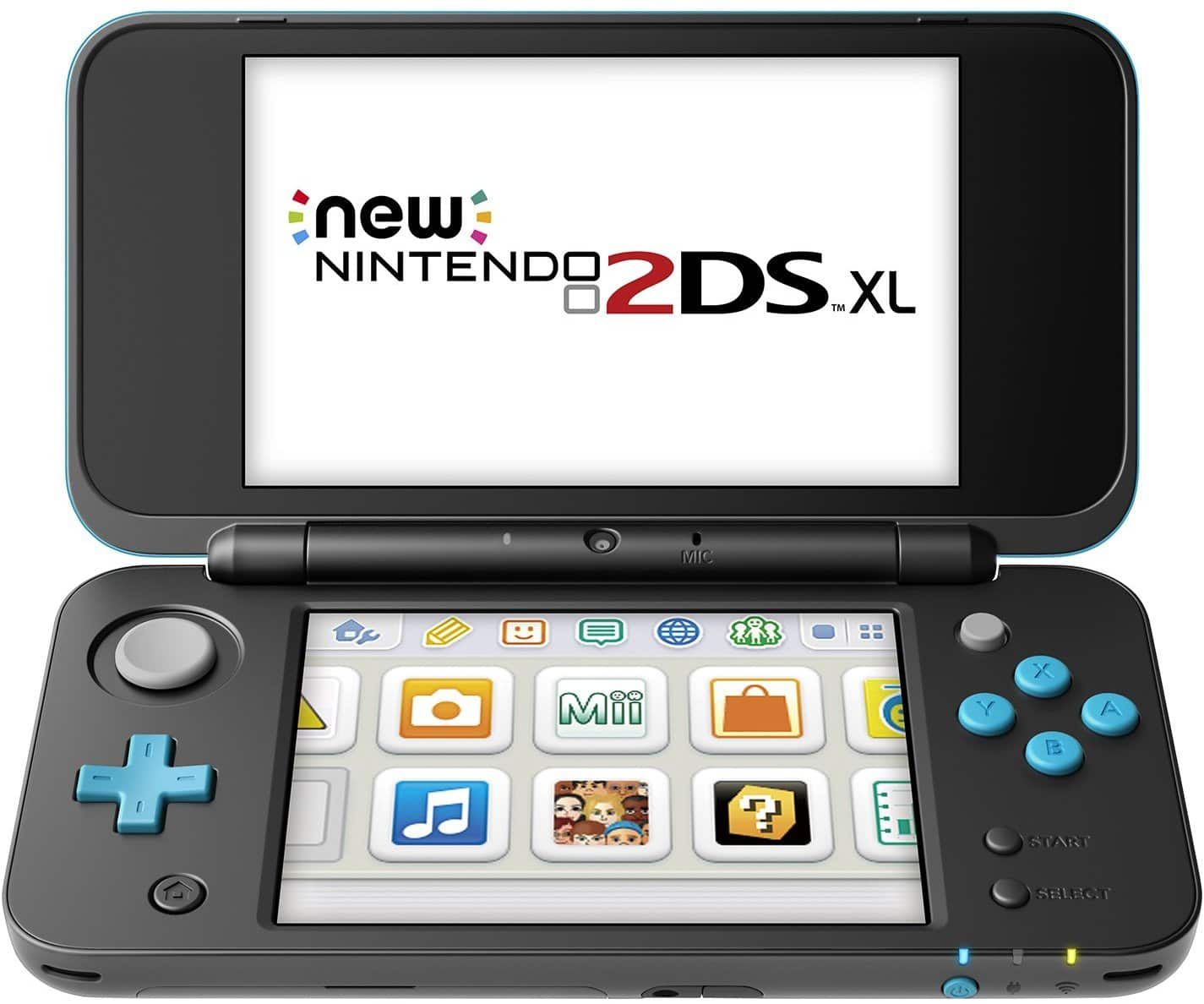 Nintendo 2DS XL - Black and Turquoise $129.99