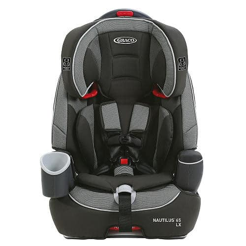 Graco Nautilus 65 LX 3-in-1 Harness Booster Convertible Car Seat - Conley $99.99