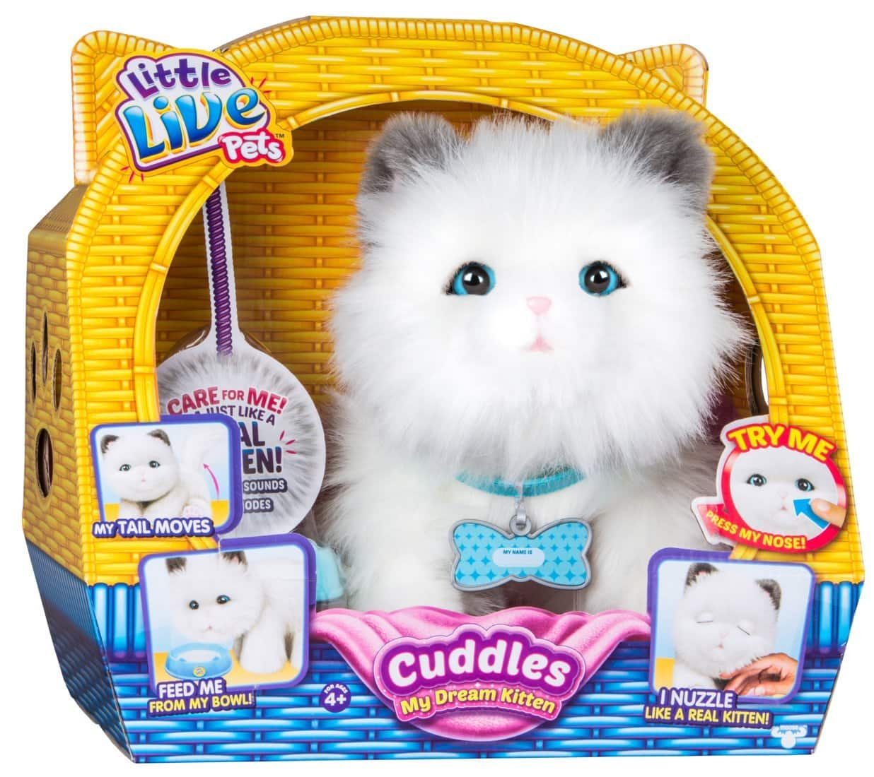 Little Live Pets Cuddles My Dream Kitten - 1 for $33.74, 2 for $50.61 @ Amazon with FSSS / Prime Shipping