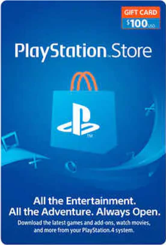 Sony Playstation $100 Gift Card for $90 at Costco YMMV