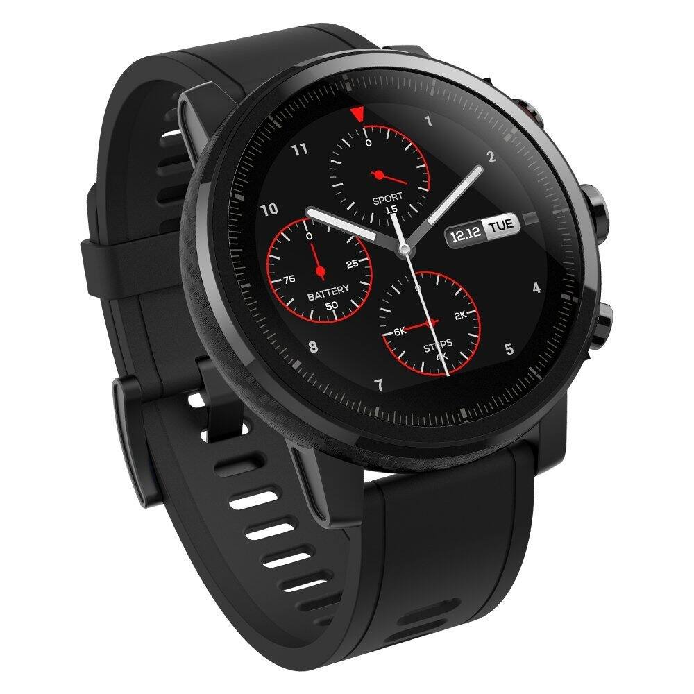 Amazfit Stratos Multisport GPS Smartwatch Black (A1619) - Intl/English version $142.95