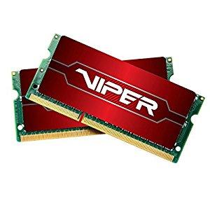 Patriot Memory Viper 4 Series 32GB (2 X 16GB) 2400MHz SODIMM DDR4 Kit (PV432G240C5SK) $159