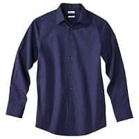 eBay Deal: Merona Men's Tailored Fit Stretch Dress Shirt $12.50 + FSSS (many sizes and colors)