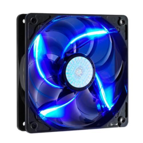 Cooler Master SickleFlow 120 - Sleeve Bearing 120mm Blue LED Silent Fan for Computer Cases, MIR $4.99