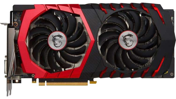MSI Nvidia GAMING GeForce GTX 1060 6GB Graphics Card - $205 after College discount & $20 Rebate