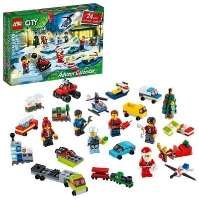 LEGO City Advent Calendar with City Play Mat, Best Festive Toys for Kids 60268, $17.99 @ Target