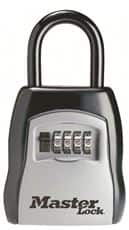 Master Lock 5400D Set Your Own Combination Portable Lock Box, 5 Key Capacity, Black $13.05