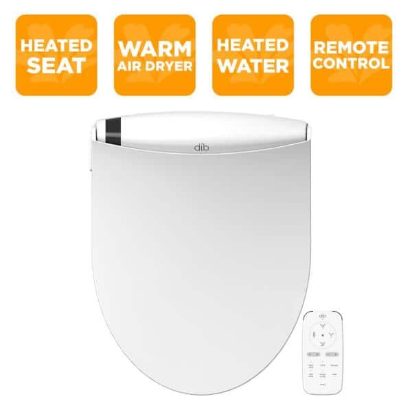 $200 off Bio Bidet DIB Special Edition Electrical Bidet Seat for Elongated Toilet in White $499.99