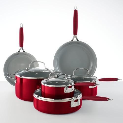 Food Network™ 10-pc. Ceramic Cookware Set $99.98