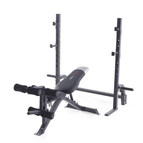 Weider Pro 395 Olympic Weight Bench with Squat/Bench Press Rack. $139 for Reward Members. Free store pickup