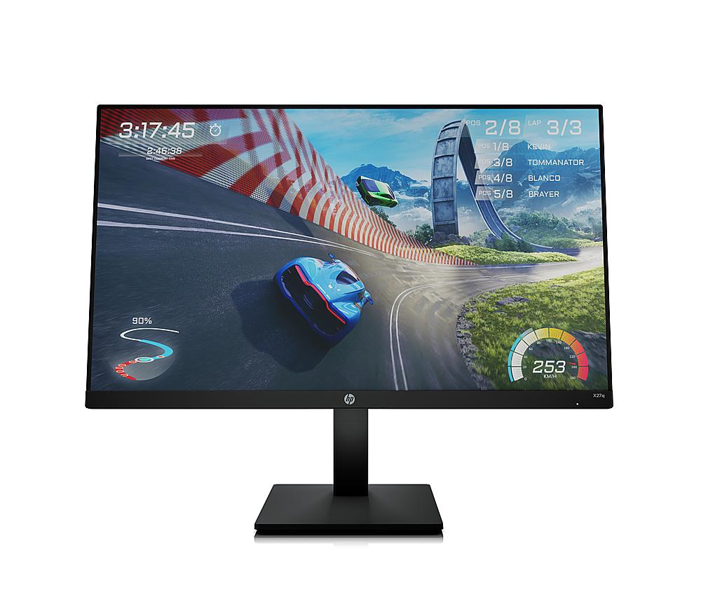 "HP X27q 27"" QHD 165Hz HDMI DP FreeSync HDR IPS LED Gaming Monitor $229.99 at Micro Center - B&M"