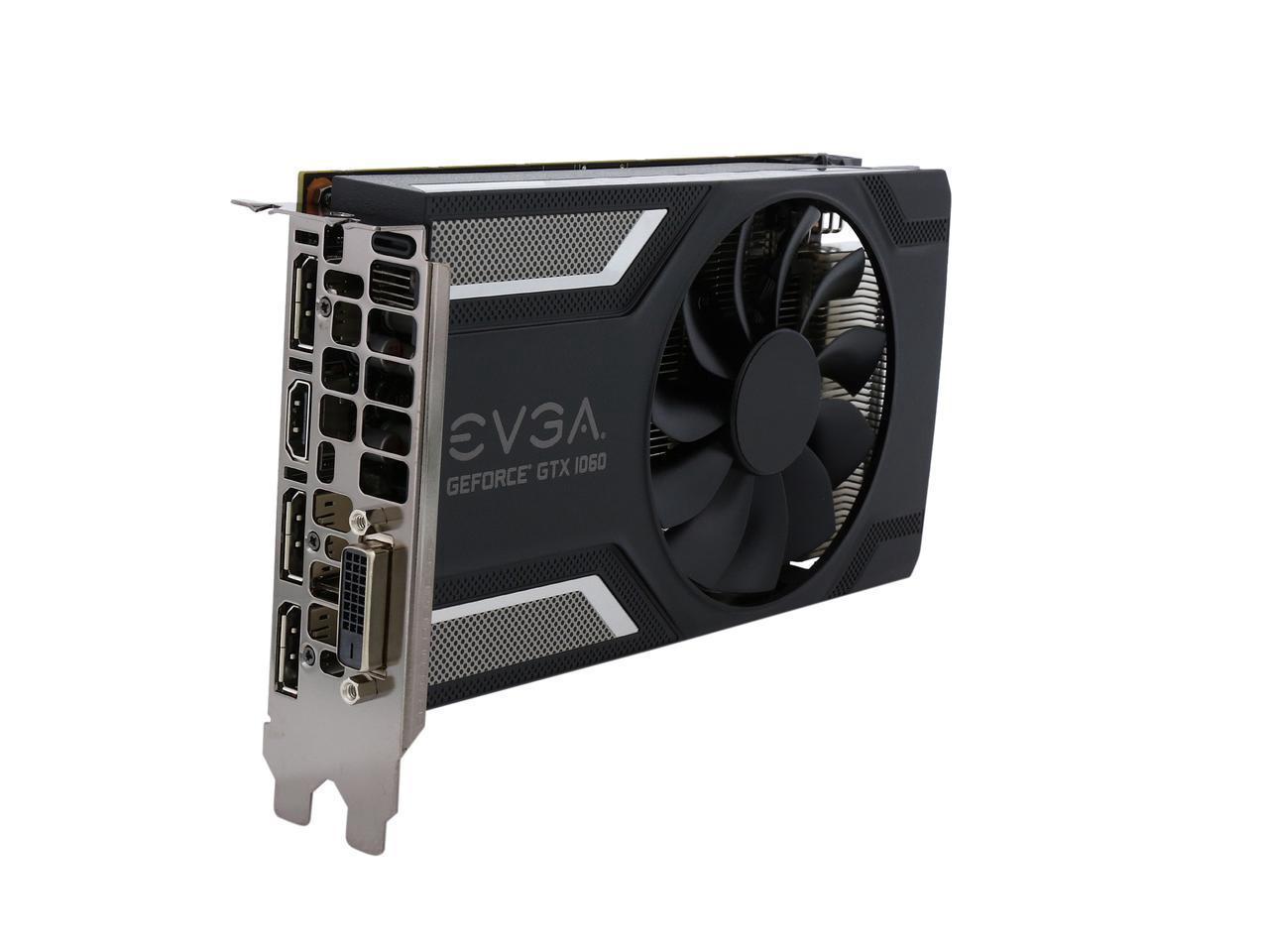 EVGA GeForce GTX 1060 SC GAMING, 06G-P4-6163-KR, 6GB GDDR5, ACX 2.0 (Single Fan) $289.99