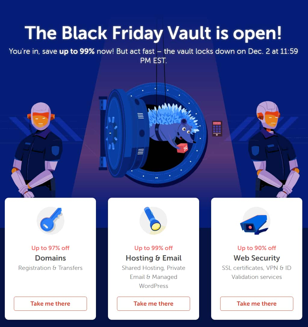 Namecheap Black Friday: it's a bust, but in case you're interested...