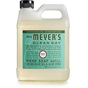 Amazon Mrs. Meyer´s Clean Day Hand Soap Refill, Basil, 33 fl oz $4.74 plus S&S 5/15%