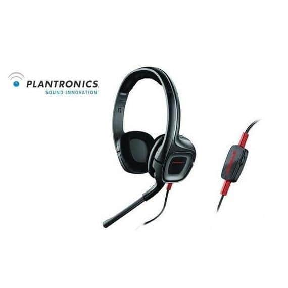 Plantronics GAMECOM 307 Gaming HEADSET W/ MIC & GOLD PLATED 3.5MM Plugs Xbox Ps4 $9.99