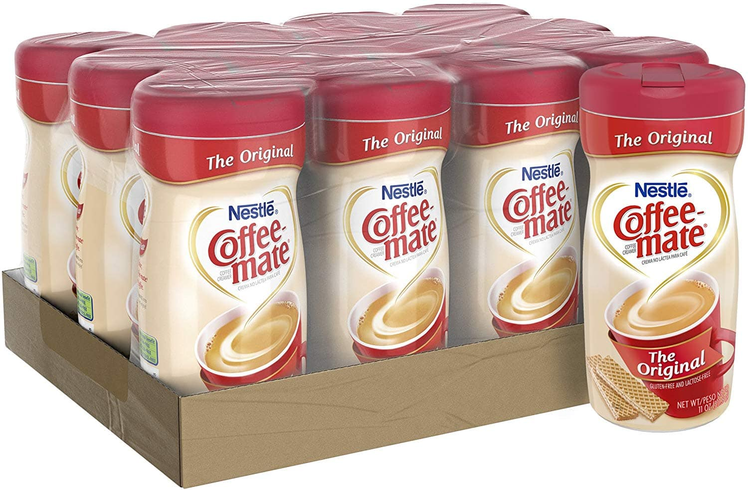 Nestle Coffee-mate Coffee Creamer, Original, 11oz powder creamer, Pack of 12 $14.97
