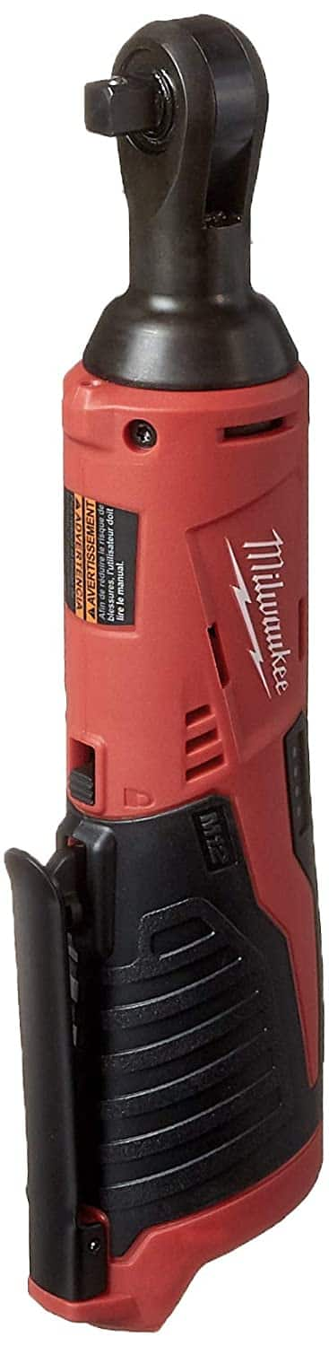 """Milwaukee 2457-20 M-12 3/8"""" Ratchet, tool only for $85.80"""