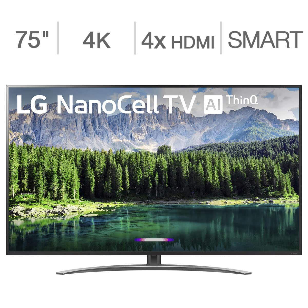Costo Members - LG Nanocell 8 Series 4K 75 inch + 3 years Squaretrade Extended warranty -  $1,469.99