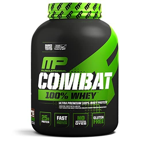 10 lbs MusclePharm Combat 100% Whey Protein Powder, Chocolate Milk w/Subscribe and Save as low as $46.38