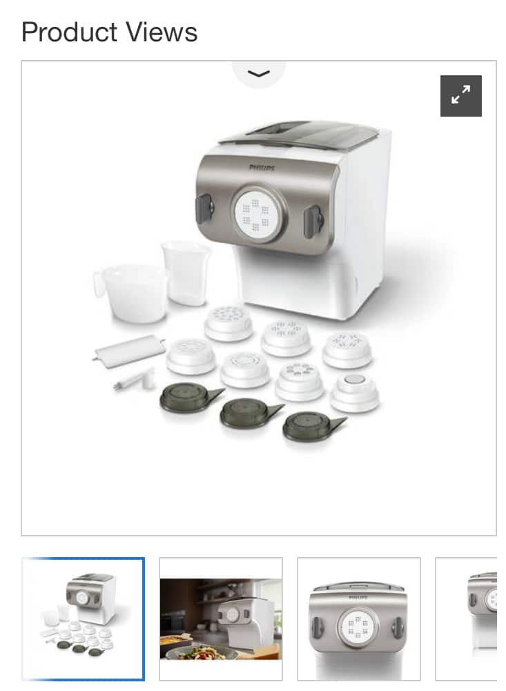 Philips Pasta and Noodle Maker Item # 1137039 Costco Member Only $200