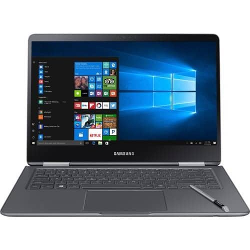 "Samsung Notebook 9 Pro 15"" Touch-Screen Laptop – Intel Core i7 – 16GB Memory – AMD Radeon 540 – 256GB Solid State Drive Titan silver NP-940X5N-X01US - Best Buy $800"