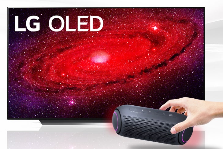 Claim a FREE LG XBOOM Go PL5 Speaker with LG OLED or NANO TV purchase