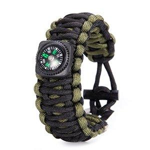 Gonex Paracord Survival Bracelet - $2 FSSS or FS with Prime Amazon