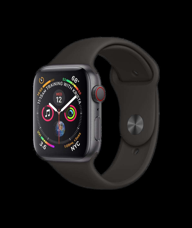 Apple - Apple Watch Series 4 (GPS) 44mm $379