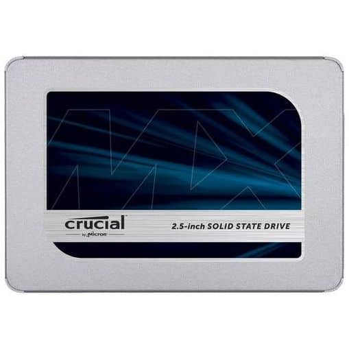 "Crucial MX500 500GB 2.5"" SSD Internal Solid State Drive, SATA III 6GB/S $50.99 AC Free ship"