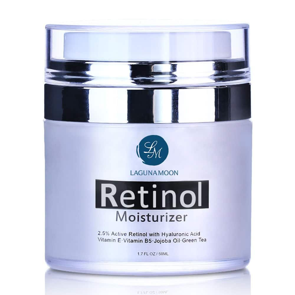 Retinol Moisturizer Cream for Face and Eye for $10.87 + Free Shipping @Amazon