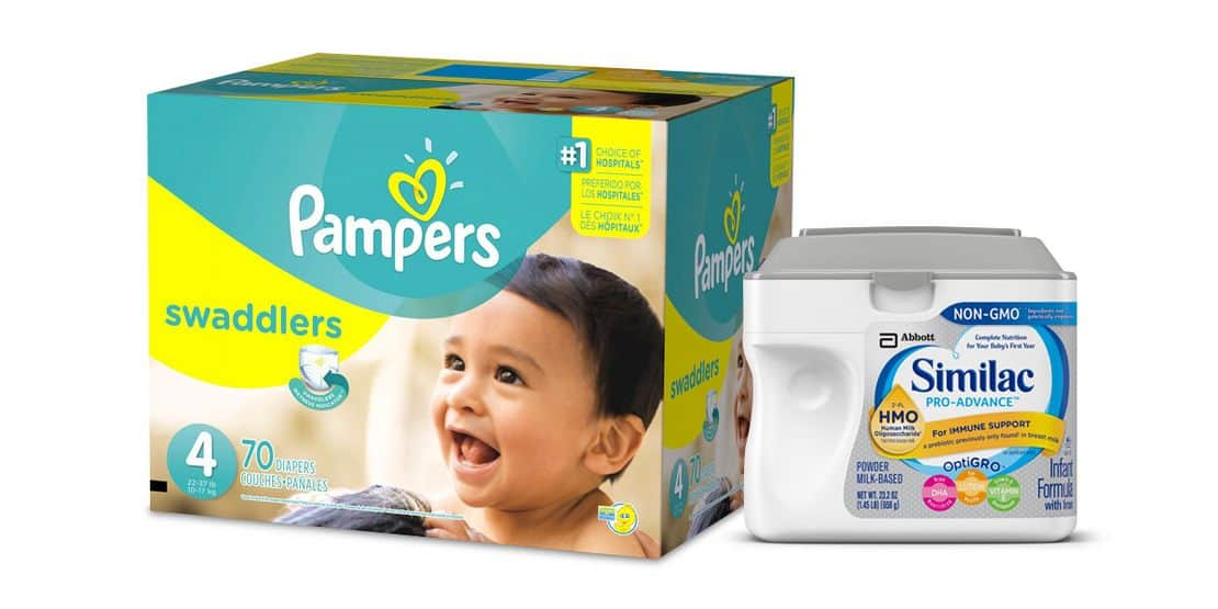 Spend $100 or more on baby items + $20 free gift card + free shipping