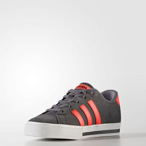 adidas Daily Team Shoes Kids' Grey + free shipping $19.99