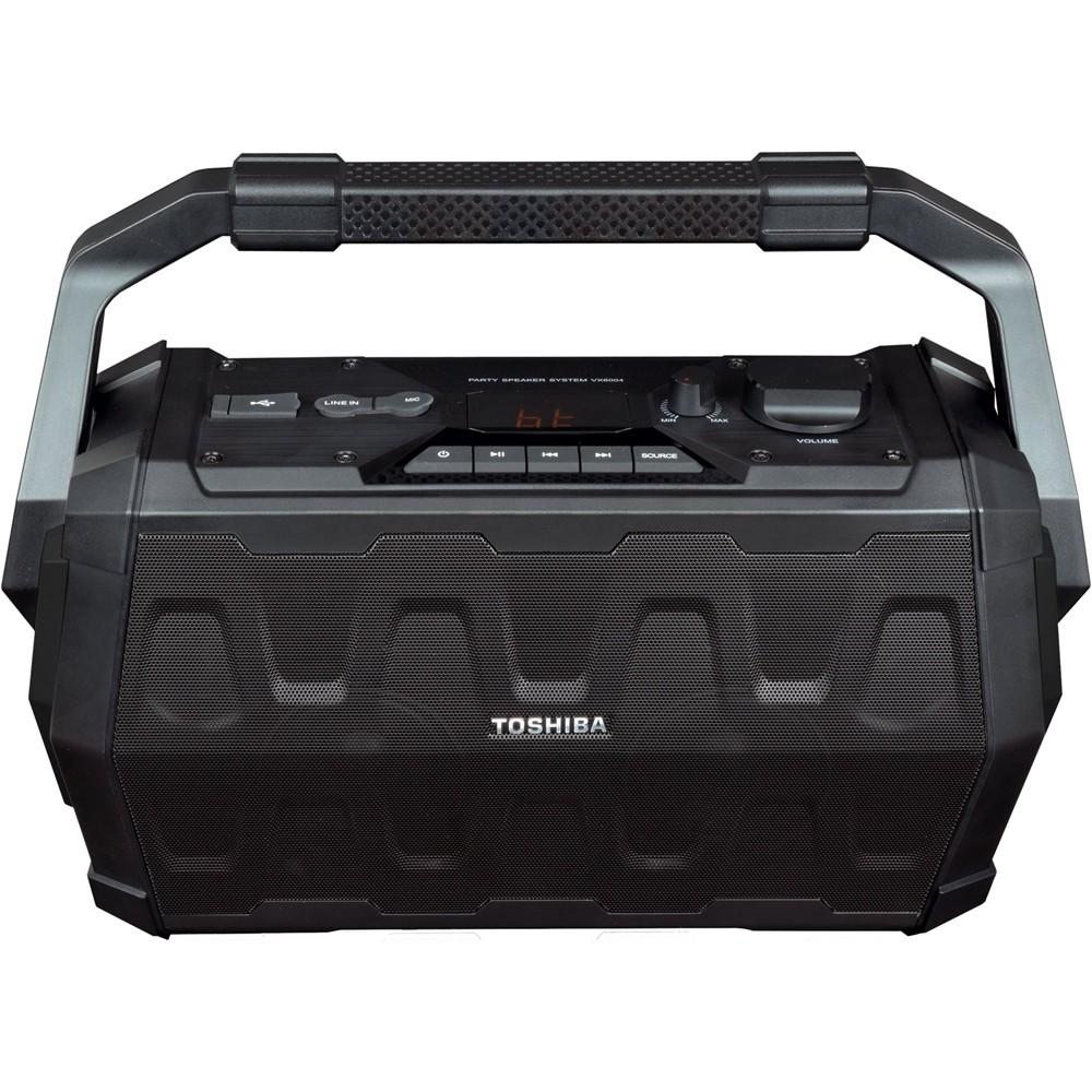 Toshiba - Portable Bluetooth Speaker - Black  + free shipping $69.99