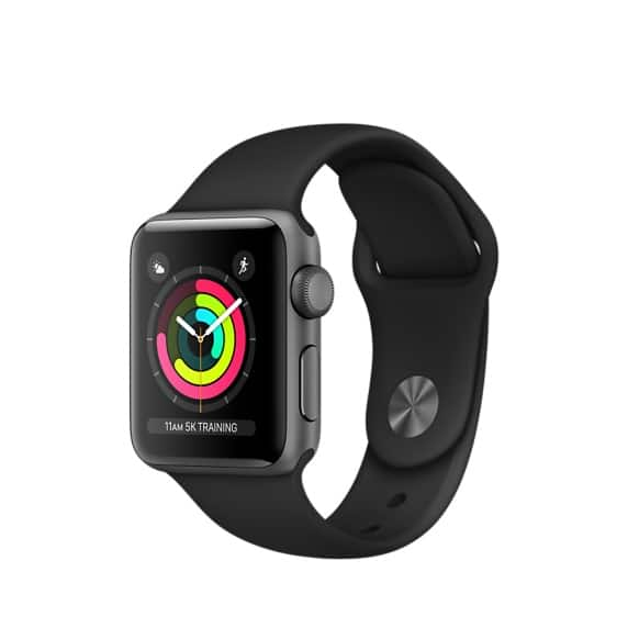 Apple Watch Series 3 GPS - Refurbished by Apple + free shipping- 42mm for $309 and 38mm for $279